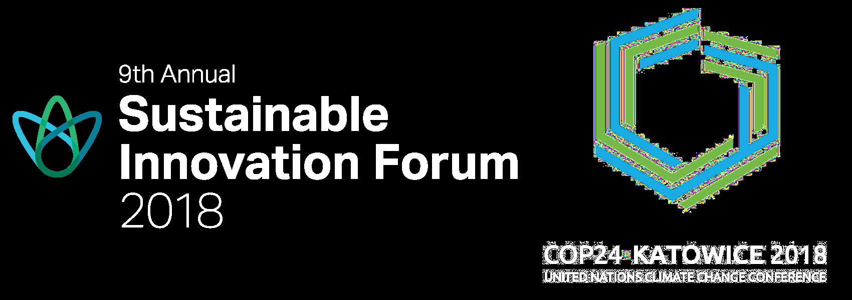 COP24 Katowice - Sustainable Innovation Forum 2018