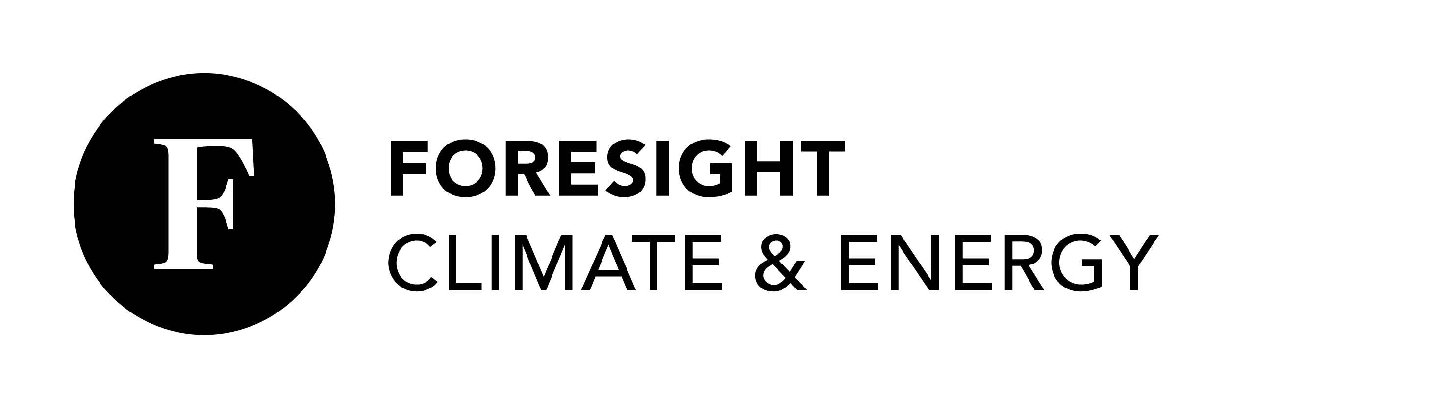 FORESIGHT Climate & Energy